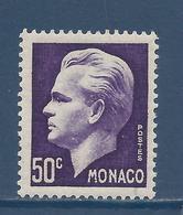 Monaco - YT N° 344 - Neuf Sans Charnière - 1950 Et 1951 - Monaco