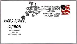 MARS ROVER STATION. Utica NY 2004 - Astronomùia