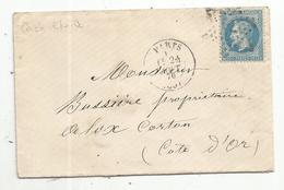 Lettre , 1870 , PARIS , Cachet ETOILE - 1849-1876: Classic Period