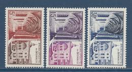 Monaco - YT N° 383 à 385 - Neuf Sans Charnière - 1952 - Neufs