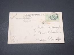 GUINÉE - Affranchissement De Konakry Sur Carte Postale En 1914 Pour La Belgique - L 16658 - French Guinea (1892-1944)