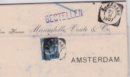 PAYS-BAS 1907 LETTRE DE SEMARANG - Nederlands-Indië