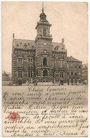 BRUXELLES 1905 Maison Communale D'Anderlecht G Bazar Anspach (1 MAI 1905 Timbre 5c De QUENAST Et REBECQ 2 MAI) Cpa - Anderlecht
