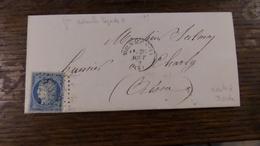 11.05.18- LAC De Viels-Maisons (2) Ecrite A  La Borde,GC 4198,variétés Sur N°60 - 1849-1876: Période Classique