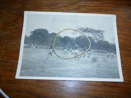 BC4-3-5-4 Carte Photo Football Equipe Congo Belge Contre Afrique Equatoriale Française 1955 à Bangui - Central African Republic