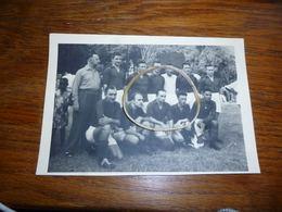 BC4-3-5-4 Carte Photo Football Equipe Congo Belge En Afrique Equatoriale Française 1955 à Bangui - Central African Republic