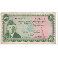 Billet, Pakistan, 10 Rupees, 1972, KM:21a, TTB - Pakistan
