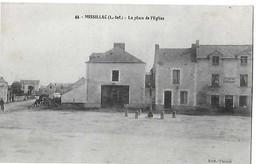 MISSILLAC  N 44  PLACE DE L EGLISE        DEPT 44 - Missillac