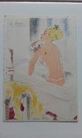 BARRE DAYEZ N° 1280 - LE BAIN - FEMME - MODE - WOMAN - FASHION - Illustrateur ANDRE STEFAN - Donne