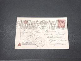 GRECE - Affranchissement D' Athènes Sur Carte Postale Pour La France En 1911 - L 16675 - Grecia