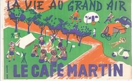 Buvard La Vie Au Grand Air Le Café Martin - Coffee & Tea