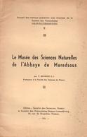 Le Musée Des Sciences Naturelles De L'Abbaye De Maredsous 1951 - Sciences