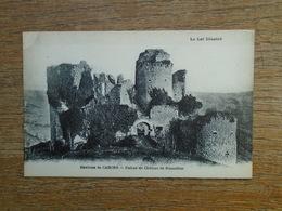 Environd De Cahors Ruines Du Château De Rousillon - France