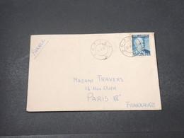 NORVÈGE - Enveloppe De Boftsa Pour La France En 1951 - L 16678 - Norvège