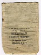 Mergenthaler Linotype Company  Retourzakje10 Cm Op 14 Cm - Other Collections