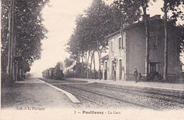 POUILLENAY - La Gare - France