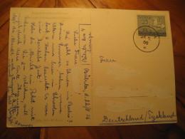 MELBOURNE 1956 Olympic Games Olympics Horse Equestrian BALSTA 1956 Stamp On HOHENASCHAU Castle CHIEMGAU Post Card SWEDEN - Sommer 1956: Melbourne