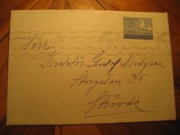 MELBOURNE 1956 Olympic Games Olympics Horse Equestrian STOCKHOLM Stamp On Cover SWEDEN - Sommer 1956: Melbourne