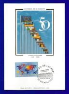 Frankreich 1999  Mi.Nr. 3370 , EUROPA  CEPT Mitläufer - 50 Jahre Europarat - Maximum Card - Paris 19.03.1999 - 1999