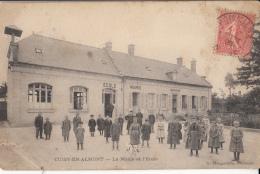 02- Cuisy En Almont   La Mairie Et L Ecole - France