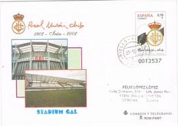 28599. Entero Postal RIELLS (Gerona) 2012. Real Union Futbol - Enteros Postales