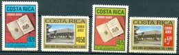 Costa Rica - 1972 - Yt PA 538/541 - Année Internationale Du Livre - ** - Costa Rica
