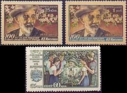 RUSSIA - USSR - Mitschurin - FLOWERS  - **MNH - 1956 - Plants