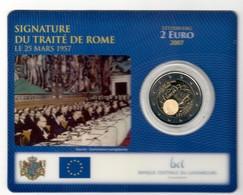 Lussemburgo 2007 2 € Trattati Di Roma In Blister UFFICIALE SUPER OFFERTA - Lussemburgo