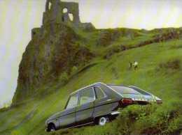 Buvard, Format 16x21 Cm, Automobile Renault  R16 - Automotive