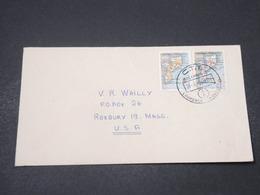 MOZAMBIQUE - Enveloppe De Loureco Marques Pour Les Etats Unis En 1958, Affranchissement Plaisant - L 16690 - Mozambique