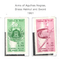Brasile PO 1961 Arms Negras E Spade    Scott.918+919 See Scan On Scott.Page - Brasile
