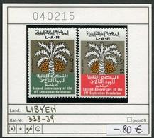 Libyen - Libyia - Libia - Libye - Michel 338-339 - ** Mnh Neuf Postfris - Libia