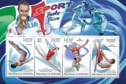 Burundi 2012 - MNH ** - Athlétisme - Michel Nr. Bloc 193 (bdi047) - Burundi