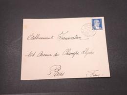 TURQUIE - Enveloppe De Istanbul Pour La France En 1939 - L 16697 - Briefe U. Dokumente