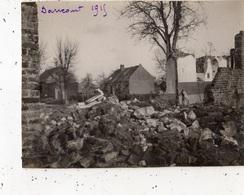 DANCOURT-POPINCOURT EN 1915 (PHOTOGRAPHIE ) RARE - France