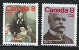 CANADA 1975 SCOTT/UNITRADW 660**-661** - 1952-.... Reign Of Elizabeth II
