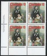 CANADA 1975 SCOTT/UNITRADW 660** LL PLATE BLOCK - Blocks & Sheetlets