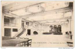 D33  ARCACHON  Casino- Vue Intérieur Du Cercle   ..... - Arcachon