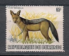 Burundi 1983 - Wild Dog Canis Mesomelas 65F - USED - Burundi