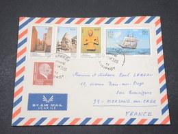 TURQUIE - Enveloppe De Ataköy Pour La France En 1973 - L 16704 - Brieven En Documenten