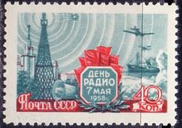 RUSSIA - USSR - RADIO DAY.  - **MNH - 1958 - Nuovi