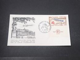 FRANCE - Enveloppe FDC  Philatec 1964 - L 16712 - 1960-1969