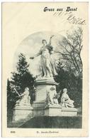 Gruss Aus Basel - 1902 - St Jacobs-Denkmal - BS Basel-Stadt