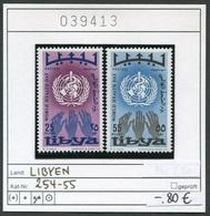Libyen - Libyia - Libia - Libye - Michel 254-255 - ** Mnh Neuf Postfris - Libia