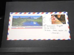 POLYNÉSIE - Oblitération De Punaauia Sur Enveloppe Touristique Pour La France En 2001 - L 16715 - Polynésie Française