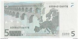 5 EURO ITALIE J001 E1 S00840106978 UNC DUISENBERG RRR - 5 Euro