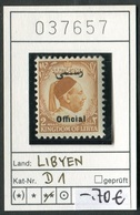 Libyen - Libyia - Libia - Libye - Michel Dienst / Service 1 - ** Mnh Neuf Postfris - Libya