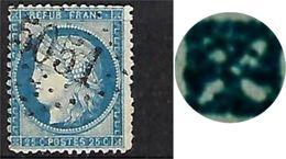 """FR YT 60C """" Ceres 60c. Bleu """" 1871 GC 5051 ORAN Algérie - 1871-1875 Cérès"""
