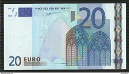 20 EURO IRELAND H003 E2 T32261444412 UNC DUISENBERG - EURO