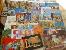LOT DE 30 CARTES NOUNOURS ..OURSONS..PELUCHES - Postkaarten